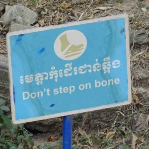 don't step on bone